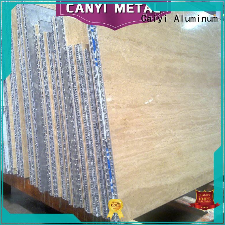 Caiyi honeycomb panel quick delivery for building