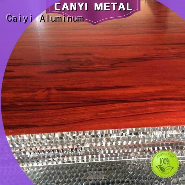 Caiyi best honeycomb panel wholesale for building