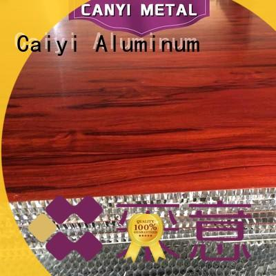 Caiyi custom honeycomb panel wholesale for outdoor ceiling